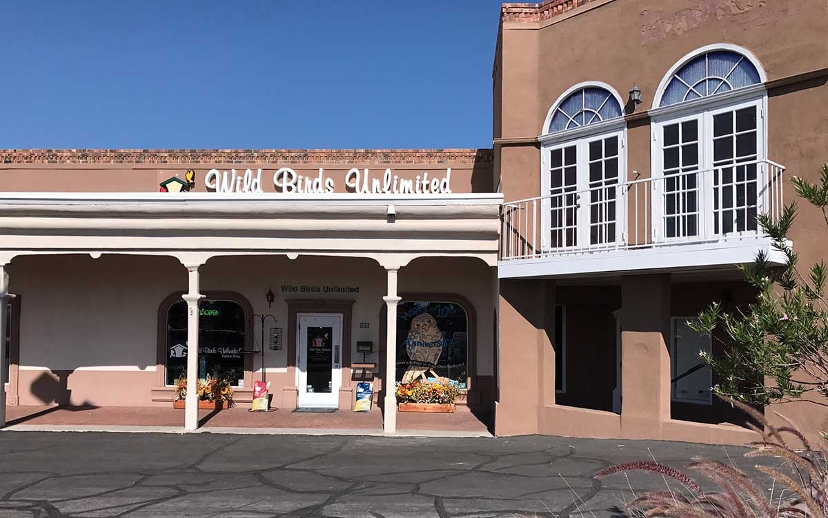 Exterior of Wild Birds Unlimited in Las Cruces