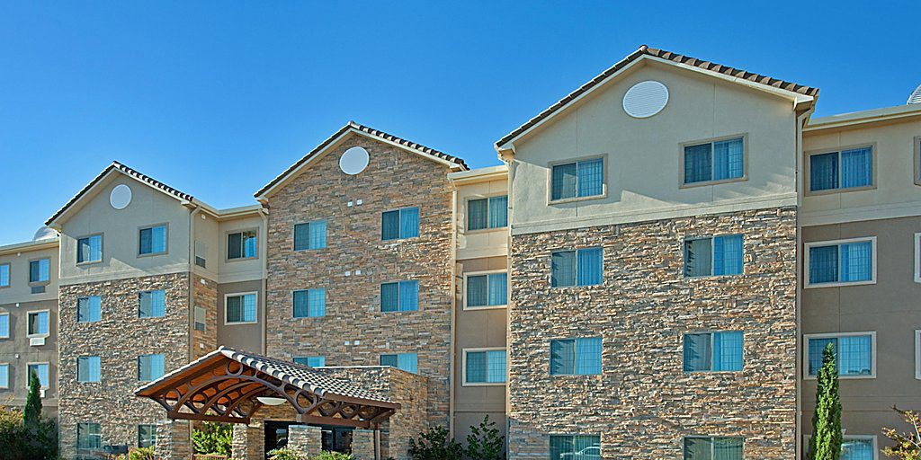 Exterior of Staybridge Suites